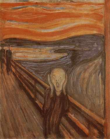 Edvard Munch The Scream 1893