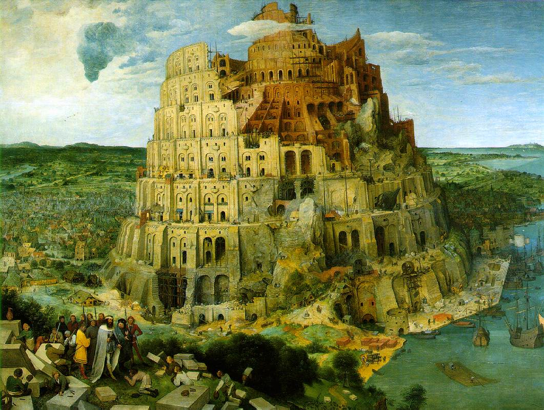 """""""La Torre de Babel"""" de Pieter Brueghel"""